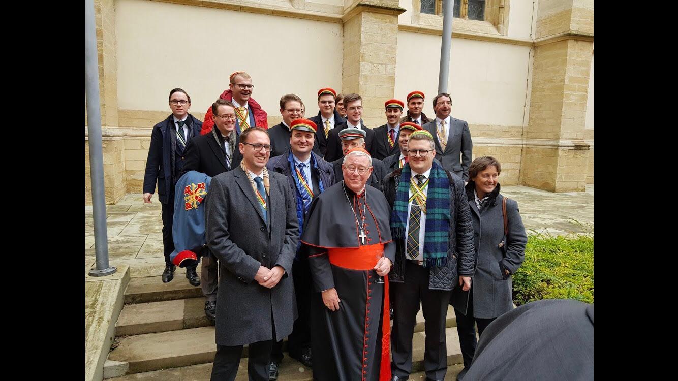 Churringkneipe und Feier zu Ehren der Kardinalsernennung